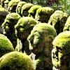 1200 Кам'яних статуй в буддистському храмі в Кіото