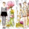 Балерини і квіти в колекції весна-літо 2014 від valentino