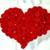 Робимо самі: велике червоне серце