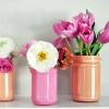 Робимо самі: пофарбовані вази