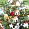 Дитячі новорічні вироби з непридатного матеріалу.