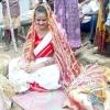 Дівчина з індії вийшла заміж за собаку