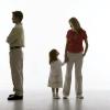 Якщо батьки дитини розлучаються - що робити?