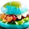 Гамбургер у вигляді планети земля