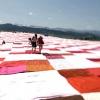 Гігантський килим для найбільшого пікніка