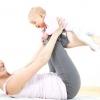 Гімнастика після пологів мама + малюк