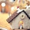 Городок з різдвяних ласощів