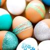 Ідеї для прикраси яєць до великодня