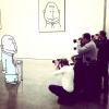 Ілюстратор лукас Левітан домальовує чужі фотографії