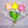Як зробити тюльпани з паперу: майстер-клас