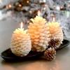 Композиції зі свічками в новорічному декорі