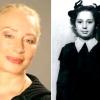 Легендарні радянські актриси в дитинстві і у віці