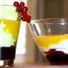 Мус з манго, йогурту і смородини