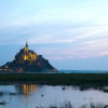 Нормандія. абатство mont saint-michel