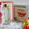 Новорічні подарунки та листівки з вишивкою