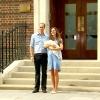 Новонародженого принца кембриджського показали світові