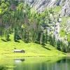 Озеро obersee очима еварушніци