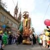 Пам'ятник буратіно урочисто відкрили в Самарі