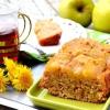 Пісний яблучний пиріг-перевертиш