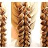 Зачіска з плетінням на гумках