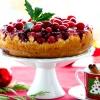 Різдвяний пиріг з журавлиною