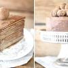 Шоколадний торт із млинців з амаретто
