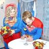 Весілля суперменів відбулася в іркутської області