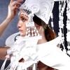Весільні костюми з паперу
