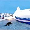 Всі собаки потрапляють до раю. ранок на Санторіні