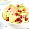 Зимовий цитрусовий салат з кіноа, авокадо і гранатом
