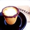 Їстівні вафельні стаканчики для кави