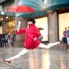 Танцюристи балету в місті