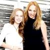 Ума Турман з дочкою