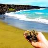 Унікальний зелений пляж Папаколеа