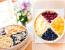 Чотирьохкольорового фруктовий пиріг